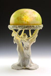エミール・ガレ 「三美神ランプ」